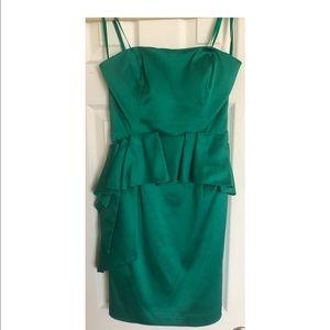 Beautiful!! green cocktail dress!